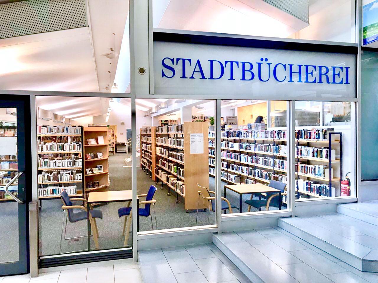 Stadtteilbücherei Stuttgart-Freiberg im Kaufpark