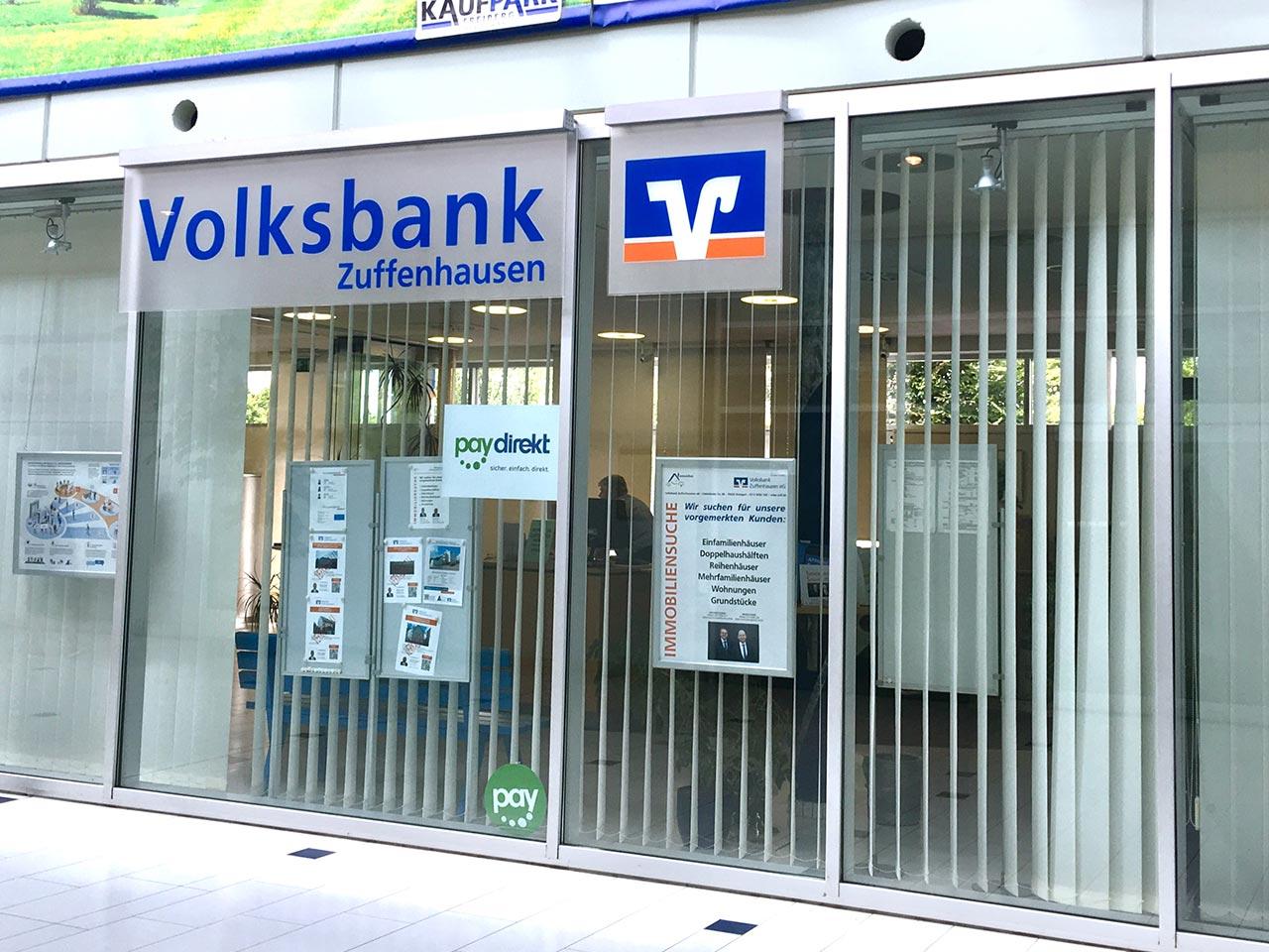 Volksbank Zuffenhausen, Filiale Stuttgart-Freiberg