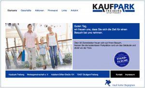 Kaufpark-alte HTML-Webseite