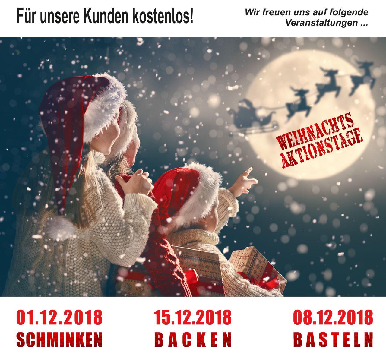 Weihnachtsaktionstage 2018