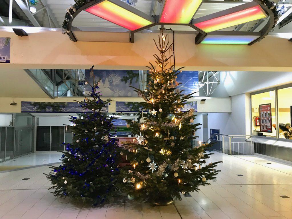 Weihnachtsbäume-Kaufpark